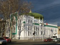 Muslimsk moské i Odessa, Ukraina arkivbild