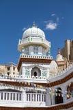 Muslimsk tempel, Leh stad i Ladakh, Indien Fotografering för Bildbyråer