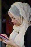 Muslimska kvinnor Arkivbild