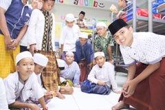 Muslimska studenter Royaltyfria Foton