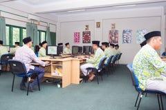 Muslimska studenter Arkivbilder