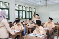 Muslimska studenter Royaltyfri Foto