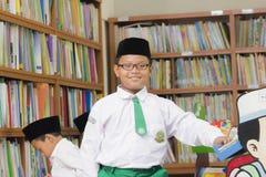 Muslimska studenter Royaltyfri Bild