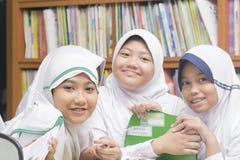 Muslimska studenter Arkivfoto