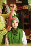 Muslimskt mode Arkivbilder