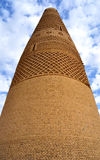 Muslimskt torn royaltyfri foto