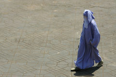 Muslin Woman Stock Image