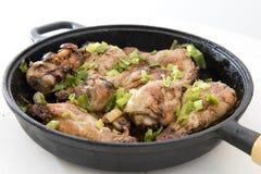 Muslos del pollo Imagen de archivo