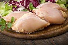 Muslos del pollo Imágenes de archivo libres de regalías