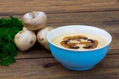 Musroom soppa Royaltyfria Bilder