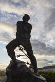 Mussa-jalil Statue im Kreml, Kasan, Russische Föderation Lizenzfreie Stockfotos