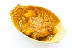 Mussaman κάρρυ κοτόπουλου Στοκ φωτογραφίες με δικαίωμα ελεύθερης χρήσης