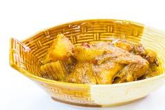 Mussaman κάρρυ κοτόπουλου Στοκ Εικόνες