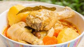 Mussaman curry Fotografering för Bildbyråer