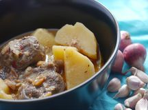 Mussaman curry Royaltyfria Foton
