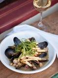 Mussel Cuisine Stock Image