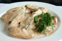 Mussel salad Royalty Free Stock Photos