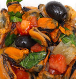 Mussel salad Stock Photography