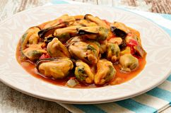 Mussel stew Stock Photos