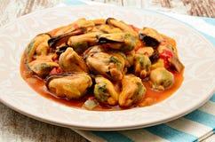 Mussel stew Stock Photos