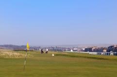 Musselburgh的,从156的苏格兰世界的最旧的高尔夫球场 免版税库存照片