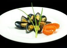 mussels dekatyzujący Obrazy Royalty Free