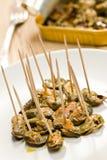 mussels dymili smakowitego Zdjęcie Stock