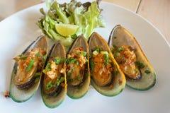 Mussels naczynie Obrazy Royalty Free