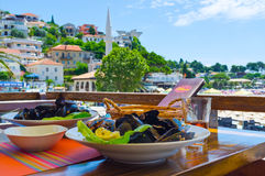 The mussels Royalty Free Stock Photography
