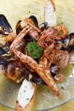 Mussels Sałatkowi Zdjęcie Stock