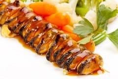Mussels z warzywami Obraz Stock