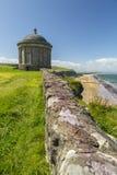 Mussenden Świątynny północny Ireland Fotografia Stock