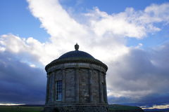 Mussenden Temple. Downhill, Northern Ireland Near Castlerock, Co. Londonderry. Overlooks Atlantic Ocean and Downhill Strand. Built in 1785 Royalty Free Stock Images