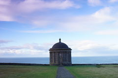 Mussenden Temple. Downhill, Northern IrelandnNear Castlerock, Co. Londonderry. Overlooks Atlantic Ocean and Downhill Strand. Built in 1785 Stock Photos