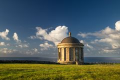 Mussenden Temple royalty free stock images