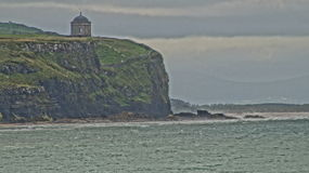 Mussendon temple with painting effect Royalty Free Stock Images