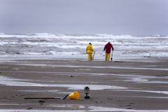 musslajägare Fotografering för Bildbyråer