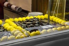 Mussles в магазине Стоковое Фото