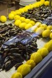 Mussles в магазине Стоковые Фото