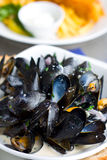 Mussles Royalty Free Stock Photography