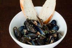 musslor royaltyfri foto