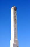 Mussolini Obelisk Rome Italy Royalty Free Stock Image