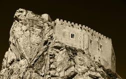 mussomeli,大反差乌贼属城堡  库存照片
