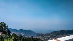 Mussoorie krajobrazu widok zdjęcie royalty free