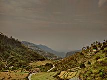 Mussourie stock photo