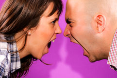 It must be love. Married couple have nice conversation Royalty Free Stock Images