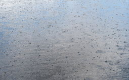 Must Be Rain Drops Jeansscenes Stock Photography