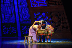 "A must-have for new mums and dads-Dance drama ""The Dream of Maritime Silk Road"" Royalty Free Stock Photos"