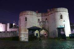 Historic buildings in London stock photography