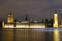 Historic buildings in London stock image